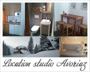 Location studio avoriaz